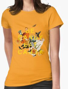 Be Dandy Eat Candy Womens Fitted T-Shirt