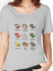 The Justice Cats of Ameowrica Women's Relaxed Fit T-Shirt