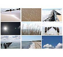beach scape Photographic Print