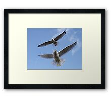 Coordinate Framed Print
