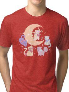 Sailor Mewn Tri-blend T-Shirt