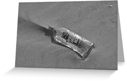 A message in an empty bottle by Catherine White Photography