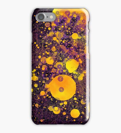 Post Modern Fusion - black iPhone Case/Skin