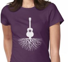 Musical Roots (Guitar) Womens Fitted T-Shirt