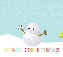 Sweetest Snowman by sweettoothliz