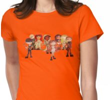 mmfr family portrait Womens Fitted T-Shirt