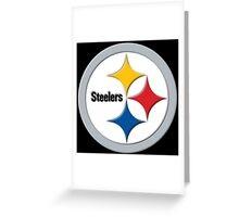 Steelers Logo (Large) Greeting Card