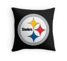 Steelers Logo (Large) Throw Pillow