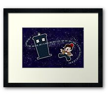 A Timelord Needs... Framed Print