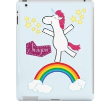 Imagine - Happy Unicorn iPad Case/Skin