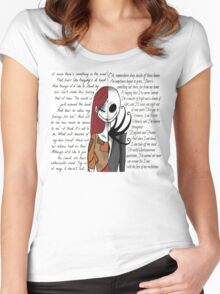 Nightmare Before Christmas Women's Fitted Scoop T-Shirt