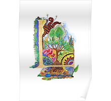 L - an illuminated letter Poster