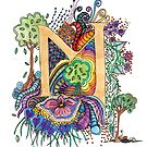 M for Margaret - an illuminated letter by wiccked