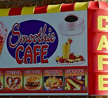 smoothie cafe on coney island by Catherine White Photography