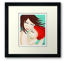 Attachment Parenting & Natural Mom Framed Print