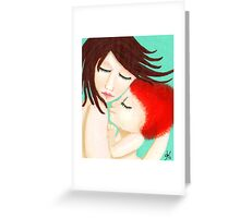 Attachment Parenting & Natural Mom Greeting Card