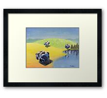 Thirsty Coobs Framed Print