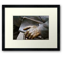 He called all people to pray Framed Print