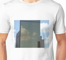 Clouds forming on Skyscraper Unisex T-Shirt