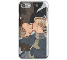 Wintery kisses iPhone Case/Skin
