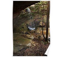 Wrigley Falls Amphitheater Poster