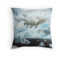 The Antarctic Experiment Throw Pillow