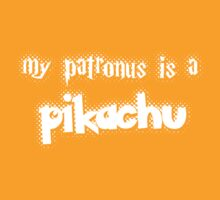 My patronus is a pikachu by trekvix