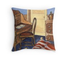 Crowded Room Throw Pillow