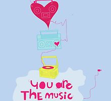 You are the music of my heart by theseakiwi