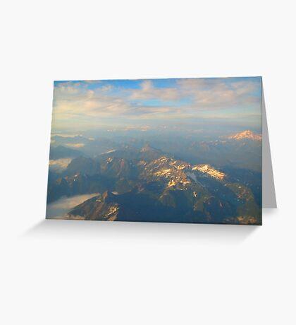 Casting Light and Shadows - Cascades Greeting Card