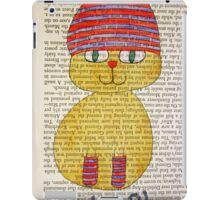 Playful Winter Kitty iPad Case/Skin