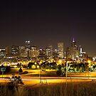 Denver, Colorado Skyline  by Katagram