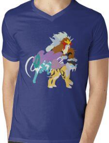 Legendary Beasts Mens V-Neck T-Shirt