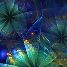 The Peacock Garden by abstractjoys