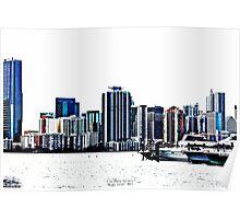 """""""Miami Color"""" Poster"""