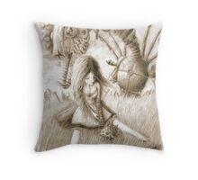 O Frabjous Day Throw Pillow