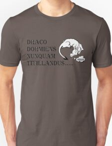 Never tickle dragons... T-Shirt