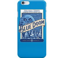 Blue Doom iPhone Case/Skin