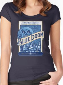 Blue Doom Women's Fitted Scoop T-Shirt