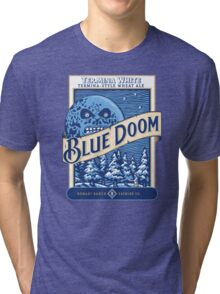 Blue Doom Tri-blend T-Shirt