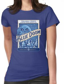 Blue Doom Womens Fitted T-Shirt