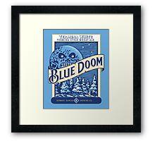 Blue Doom Framed Print