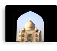 Monument of Love Canvas Print