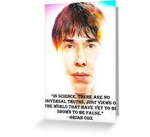 Brian Cox Greeting Card