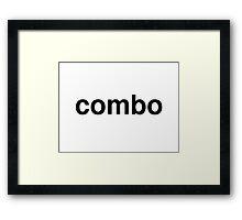 combo Framed Print