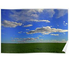 Wheat Crop 2 Poster