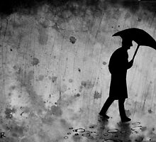 the zen of dark rainy days by Loui  Jover