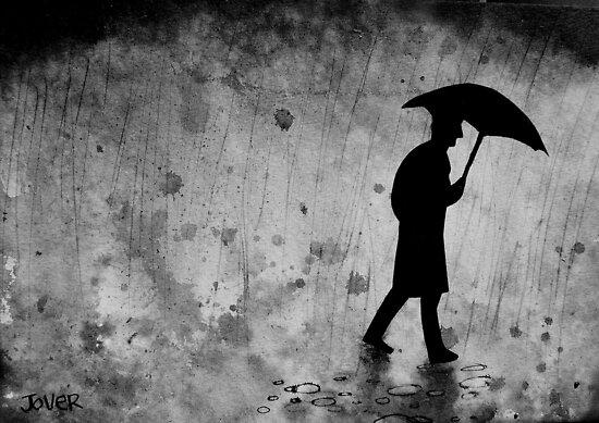 the zen of dark rainy days by Loui  Jover