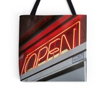 Open for business Tote Bag