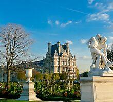 Jardin Des Tuileries Park, Paris by Larissa Dening